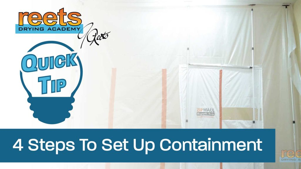Quick Tip 4 Steps To Set Up Containment