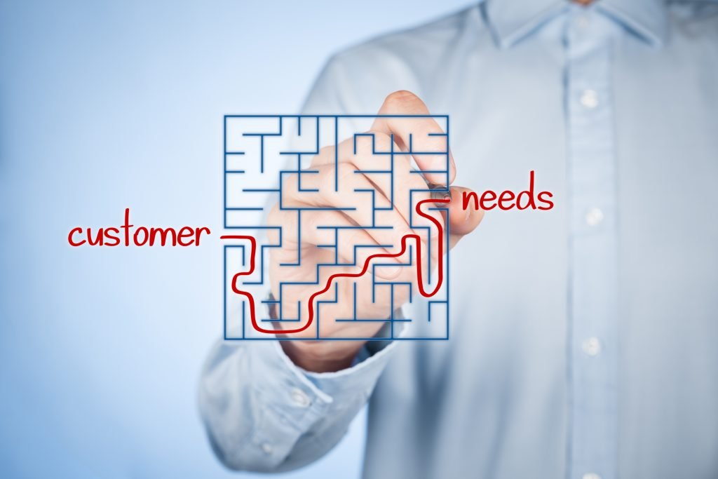 Solving puzzle of customer and needs