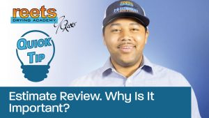 Estimate Review. Why Is It Important? Quick Tip