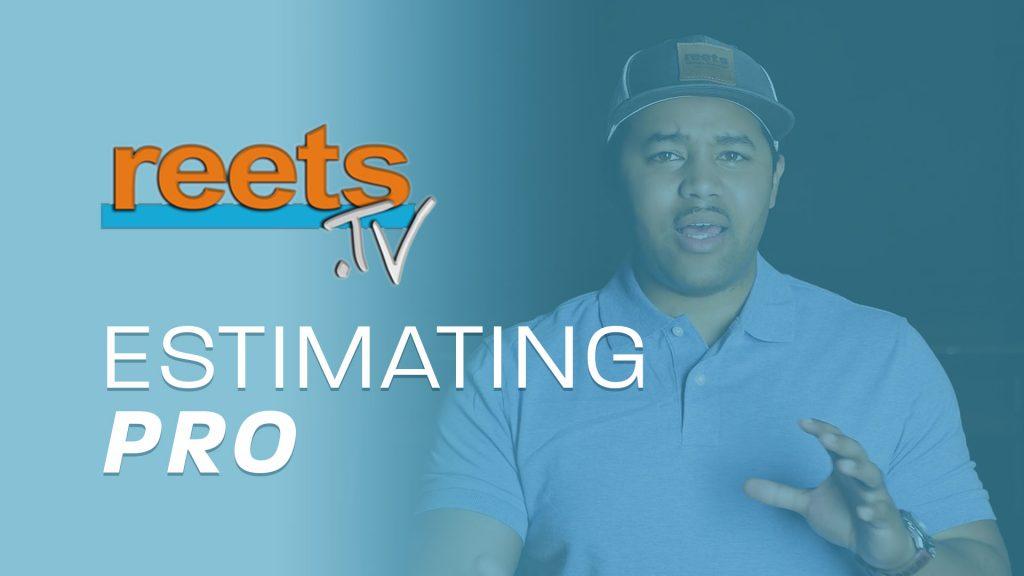 ReetsTV Estimating Pro Online training - Increase the profitability of your estimates through Xactimate training and advanced estimating techniques!