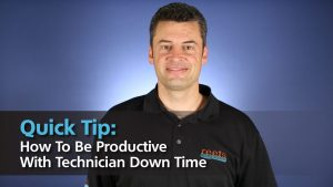 How To Be Productive With Technician Down Time