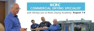 Commercial drying specialist course