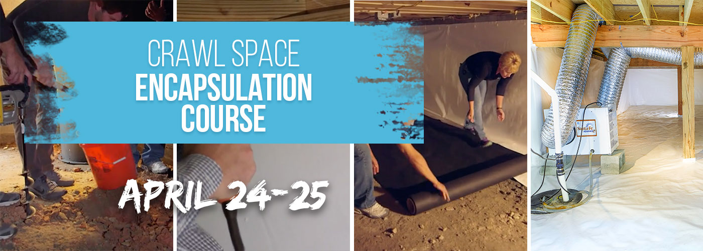Crawl Space Encapsulation Course at Reets Drying Academy