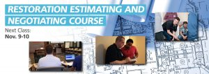 Restoration Estimating and Negotiating Course