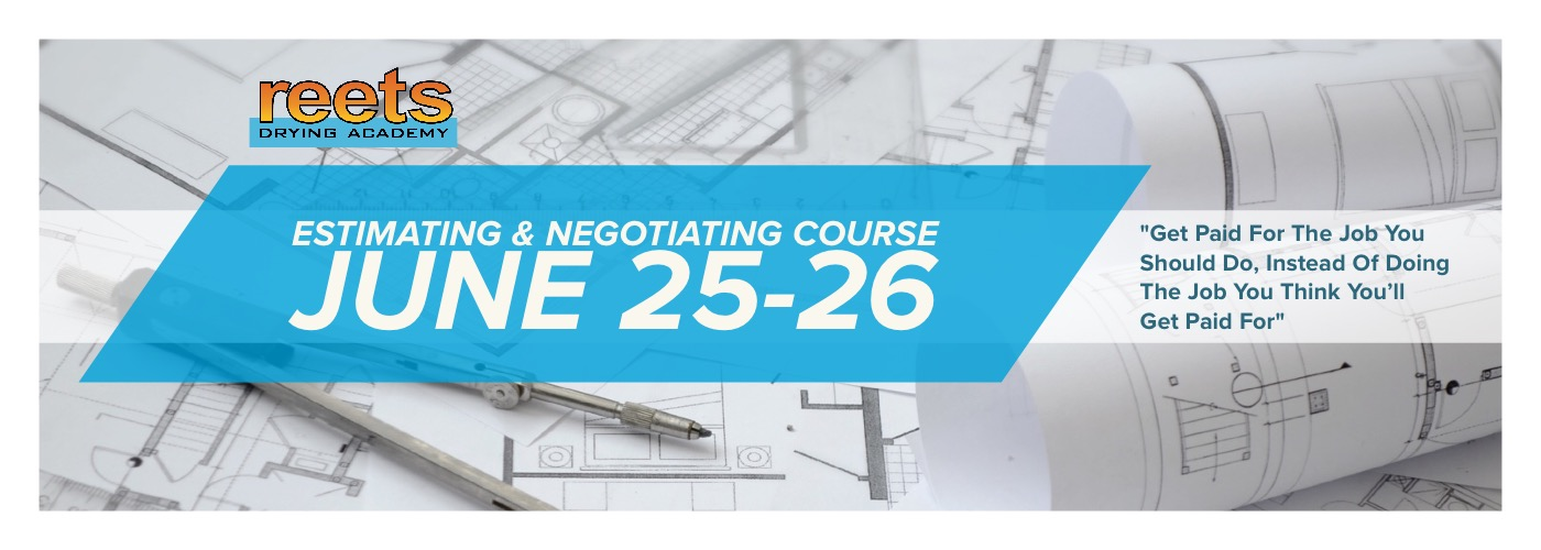 June 2018 Estimating & Negotiating course
