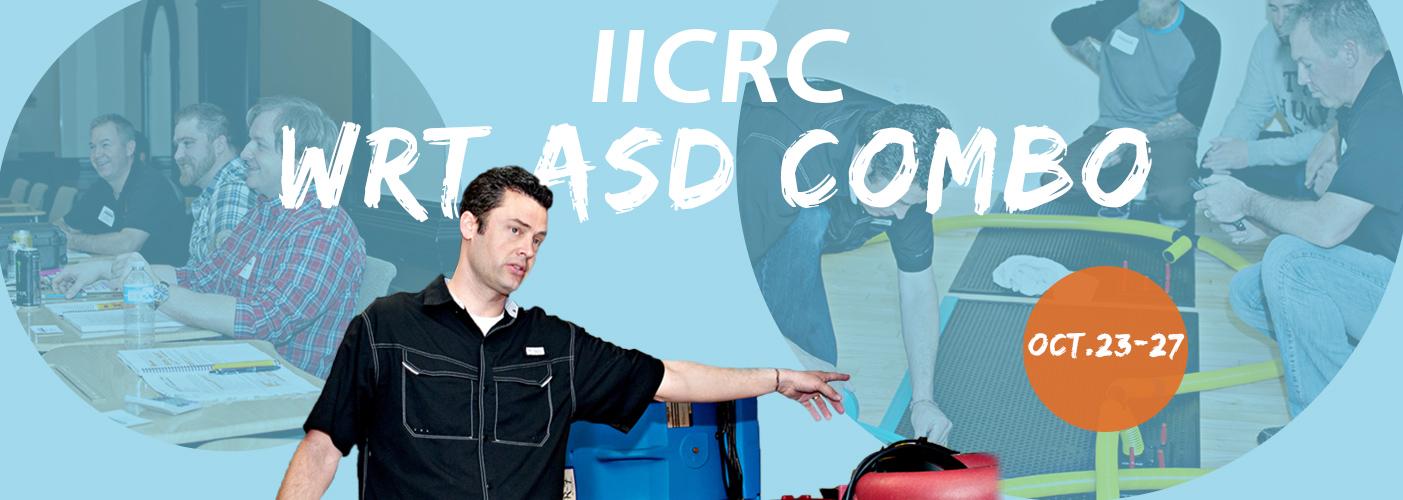 IICRC WRT/ASD Combo course