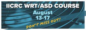 August IICRC WRT/ASD