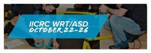 October IICRC WRT/ASD course