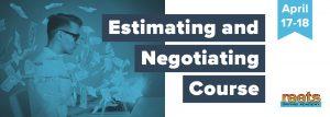 Estimating & Negotiating Course April