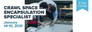 Crawl Space Encapsulation January 2019
