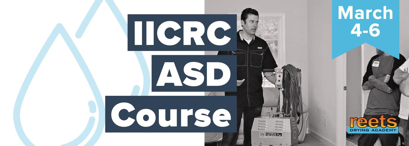 IICRC ASD course - March 2019