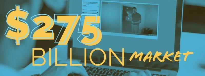 $275 Billion Market E-Learning