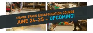 Crawl Space Encapsulation June 2019
