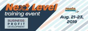 Next Level Training Event 2019 Profit Development