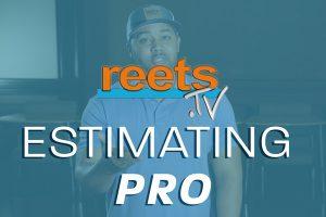 estimating pro