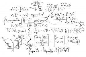Complex Formula on white board
