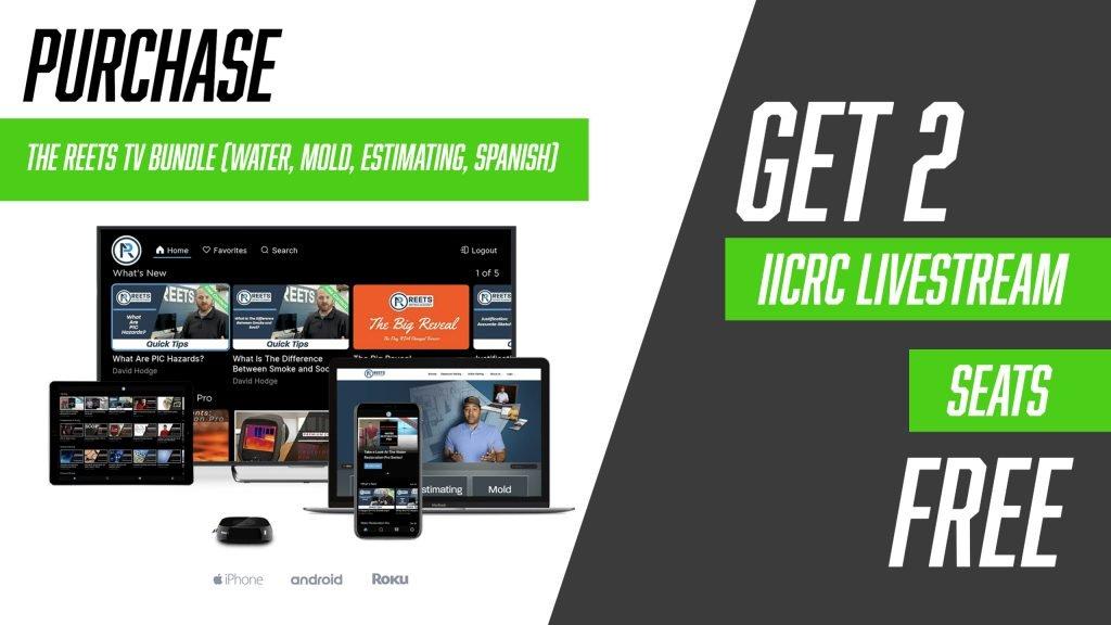 iicrc livestream seats free